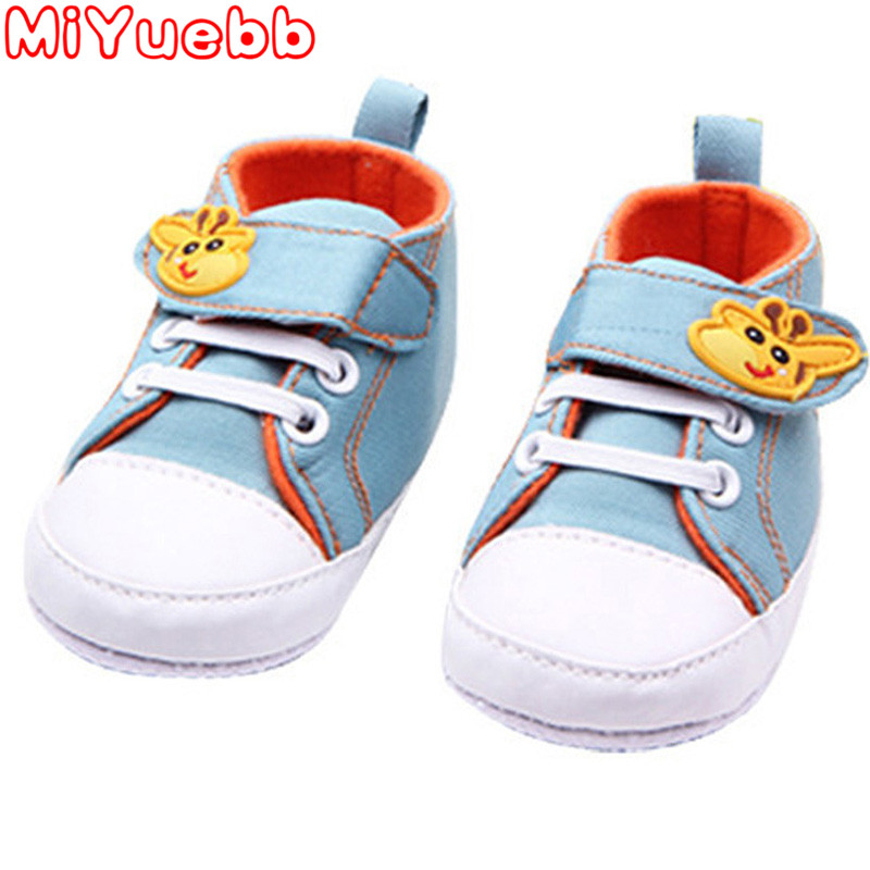 Baby Casual Cartoon Trainers Canvas Giraffe Pattern Shoes Kid Spring And Autumn Fashion New Style Sneakers 2020 New Kids Sneaker