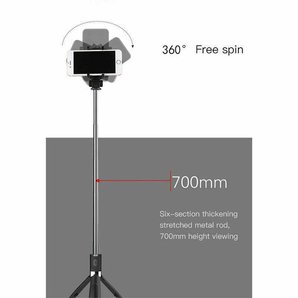2020 Беспроводная Bluetooth селфи палка складной мини штатив расширяемый монопод Wth Съемный беспроводной пульт дистанционного управления мобильный телефон стенд