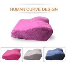 Almohada profesional para extensión de pestañas, para salón de belleza, injerto de extensiones de almohada, almohada de franela con memoria