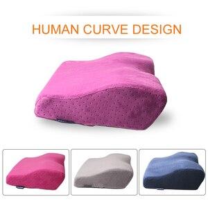 Image 1 - Profesyonel yastık kirpik uzatma salonu greft kirpik uzatma yastık bellek flanel yastık