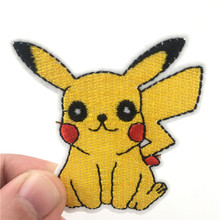 Cartoon Togepi  Iron on patch Embroidered clothes patches For clothing Kids Umbreon Badge Stickers Garment Appliques velcro patch 3d tactical morale slogans army military badge labels embroidered stickers stick on for hats backpack clothes patch