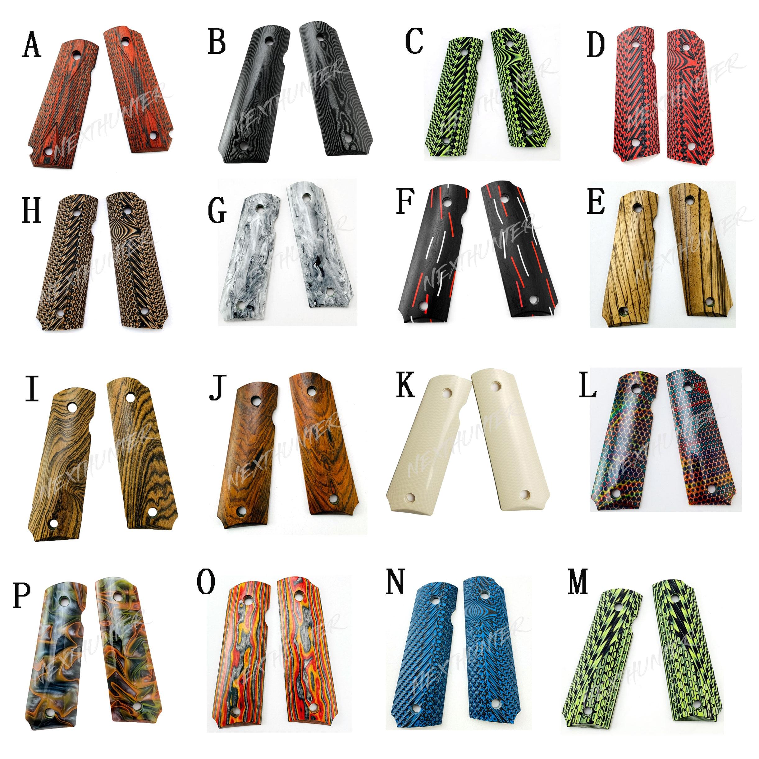 1911 accessori modificati 1911 manopole Zambia sangue wingceltis tronchi di materiale personalizzato CNC materiale della maniglia