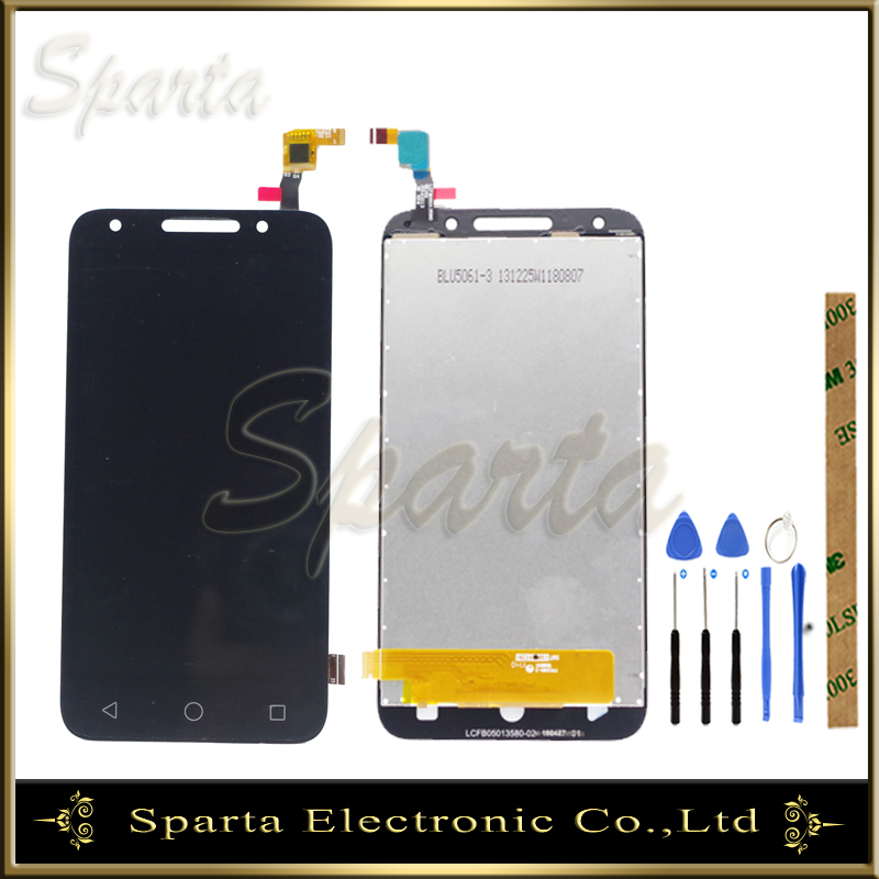 LCD Display For <font><b>Alcatel</b></font> One Touch U5 5044D 5044I <font><b>5044T</b></font> 5044Y OT5044 LCD Display Touch Screen Digitizer Replacement image