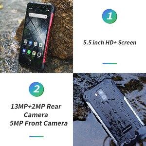 Image 3 - Ulefone Armor X5 IP68 هاتف ذكي مقاوم للماء متين MT6762 ثماني النواة أندرويد 10.0 هاتف محمول 3GB 32GB NFC 4G LTE هاتف محمول