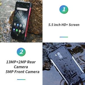 Image 3 - Ulefone Armor X5 Smartphone MT6762 Octa Core IP68 Waterproof Android 10 Face Unlock 3GB 32GB OTG NFC 4G LTE Global Version Phone