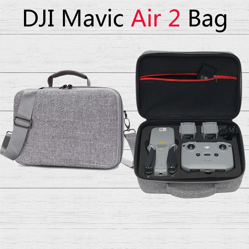 Grande capacidade mavic ar 2 saco de armazenamento sacos de ombro viagem para dji mavic ar 2 zangão acessórios
