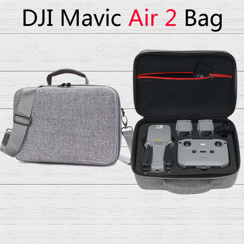 Large Capacity Mavic Air 2 Storage Bag Travel Shoulder Bags for DJI Mavic Air 2 Drone Accessories