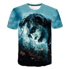 Camisetas suicidas em 3d, mangas de payaso, mangas cómicas de petey pockman. camisa de moda masculina