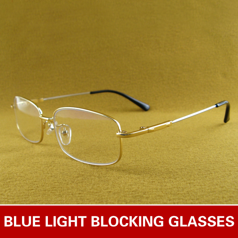 Blu-Ray Glasses Retro Eye Protection Round Personality Flat Mirror Without Degree Silver
