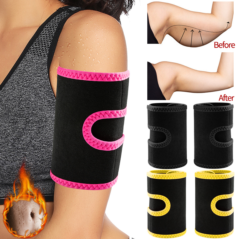 Arm Trimmers Sauna Sweat Band for Women Sauna Effect Arm Slimmer Anti Cellulite Arm Shapers Weight Loss Workout Body Shaper| | - AliExpress