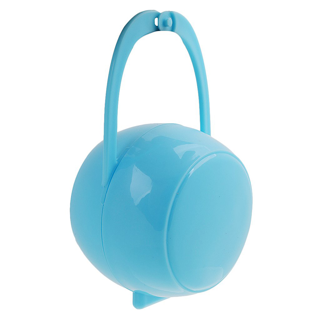 1pcs Portable Baby Pacifier Case Baby Nipple Box Travel Storage Box PP Plastic Pacifier Holder Soother Container
