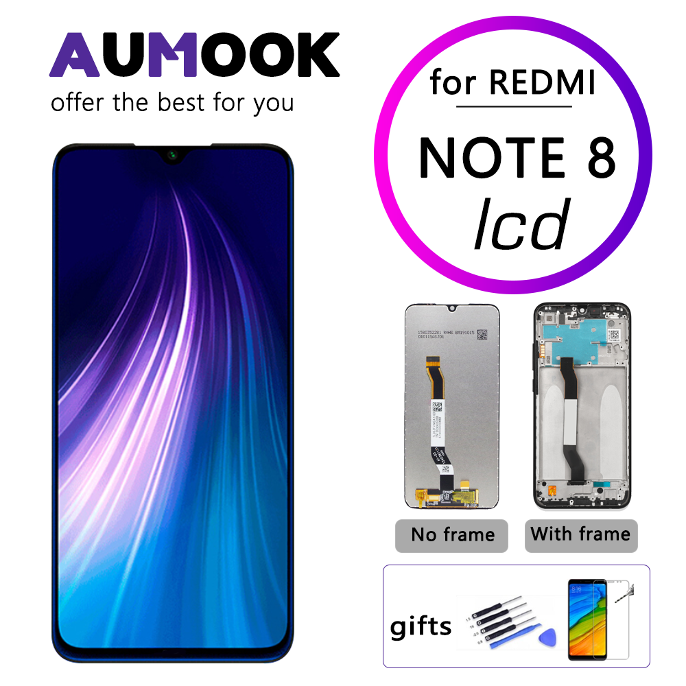 For <font><b>Xiaomi</b></font> <font><b>Redmi</b></font> Note <font><b>8</b></font> LCD <font><b>Display</b></font> with Frame Digitizer Assembley LCD Replacement for <font><b>Redmi</b></font> Note <font><b>8</b></font> Screen Repair Parts image