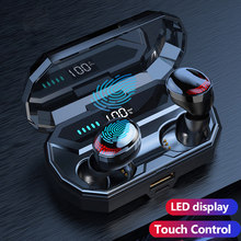 6D TWS Bluetooth Headphones Wireless Headphone with microphone Earphone Earbuds headset earpiece earphon earphones Sport runing(China)