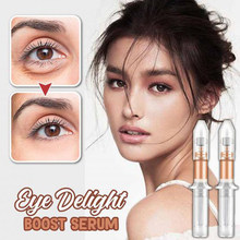 Eye Delight Boost Serum 2 Minutes Instantly Anti Puffiness Wrinkles Eye Bag Removal Cream Long Effect Fine Lines Eyes Cream(China)