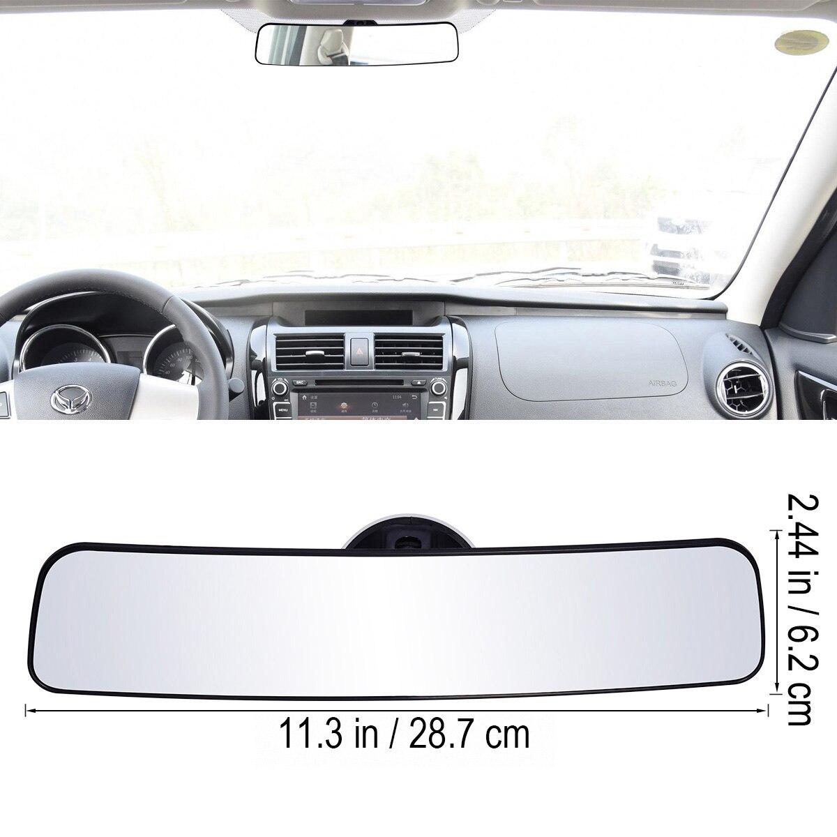 Espejo de seguridad interior de coche espejo retrovisor panorámico con succión taza 330 mm