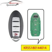 Qwmend kr5s180144014 4 кнопки умный Автомобильный ключ для nissan