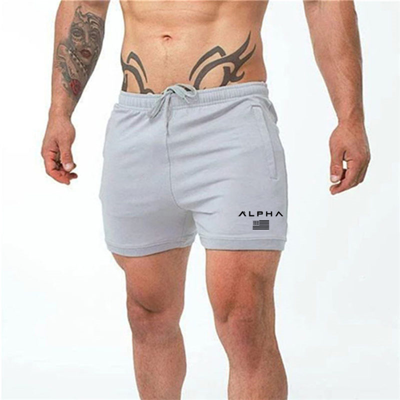 2020 New Gym Running Shorts Men Summer Fitness Men Gym Shorts Sportwear Quick Dry Breathable Bodybuilding Men Sport Gym Shorts