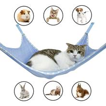купить Small Pet Dog Hammock Goods Rat Rabbit Hamster Cat Cage Hammocks Solid colour Hanging Bed Cage Cute Pet Supplies Accessories D40 по цене 175.55 рублей
