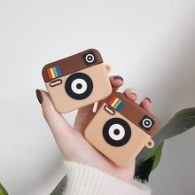 3D Funny Camera Case Wireless Bluetooth Earphone Case for AirPods Pro 2 Silicon Charging Headphones Box Cover Fundas