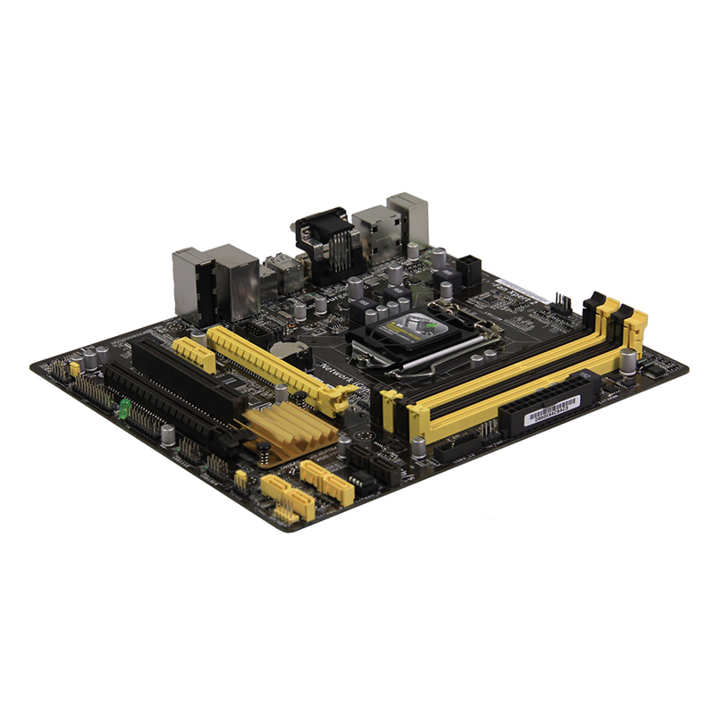 For ASUS B85M-E Desktop motherboard MB Intel B85 LGA 1150 micro ATX DDR3 32GB SATA3.0 USB3.0 100% fully Tested Free shipping 2