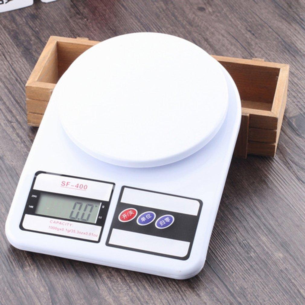 Высокоточные цифровые весы SF400 7 кг/1 г, высокоточный датчик деформации, цифровые весы-3