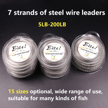 Perfect No1 Nylon Coated Trace Wire Braided Steel Fish Line Fishing Lines cb5feb1b7314637725a2e7: 100LB 10 Meter|10LB 10 Meter|120LB 10 Meter|150LB 10 Meter|15LB 10 Meter|200LB 10 Meter|20LB 10 Meter|30LB 10 Meter|40LB 10 Meter|50LB 10 Meter|5LB 10 Meter|60LB 10 Meter|70LB 10 Meter|80LB 10 Meter|8LB 10 Meter