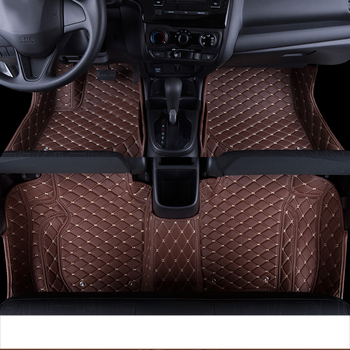 lsrtw2017 leather car floor mats rug carpet for honda fit jazz 2002-2018 2004 2005 2006 2007 2008 2009 2010 interior accessories lsrtw2017 leather car interior floor mats for volkswagen transporter 2016 2017 2018 2019 2020 t6 carpet rug styling vw