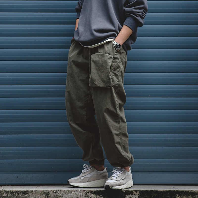Maden Streetwear Pantalones Militares Cargo Para Hombres Japoneses Bolsillo Pista Corredores Casual Legging Overoles Pantalones Sueltos Ropa Hombre Pantalones Informales Aliexpress