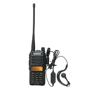 Image 3 - Abbree AR F3 трехдиапазонная рация 8 Вт, Двухдиапазонная и 220 260 МГц, высокомощная рация дальнего действия, передатчик cb, двухсторонняя рация
