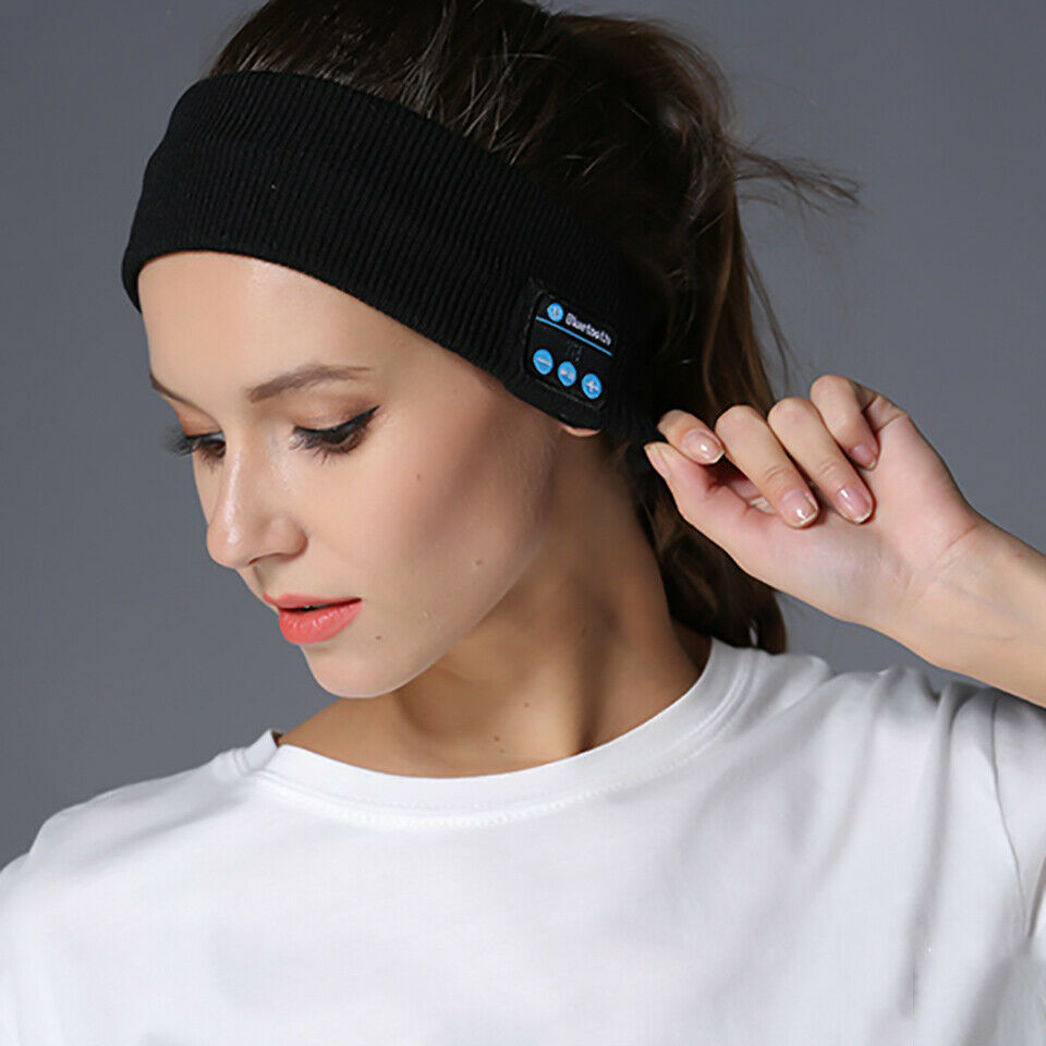 Sleep Bluetooth Headband Headset Wireless Earphone Sport HD Stereo Headphone