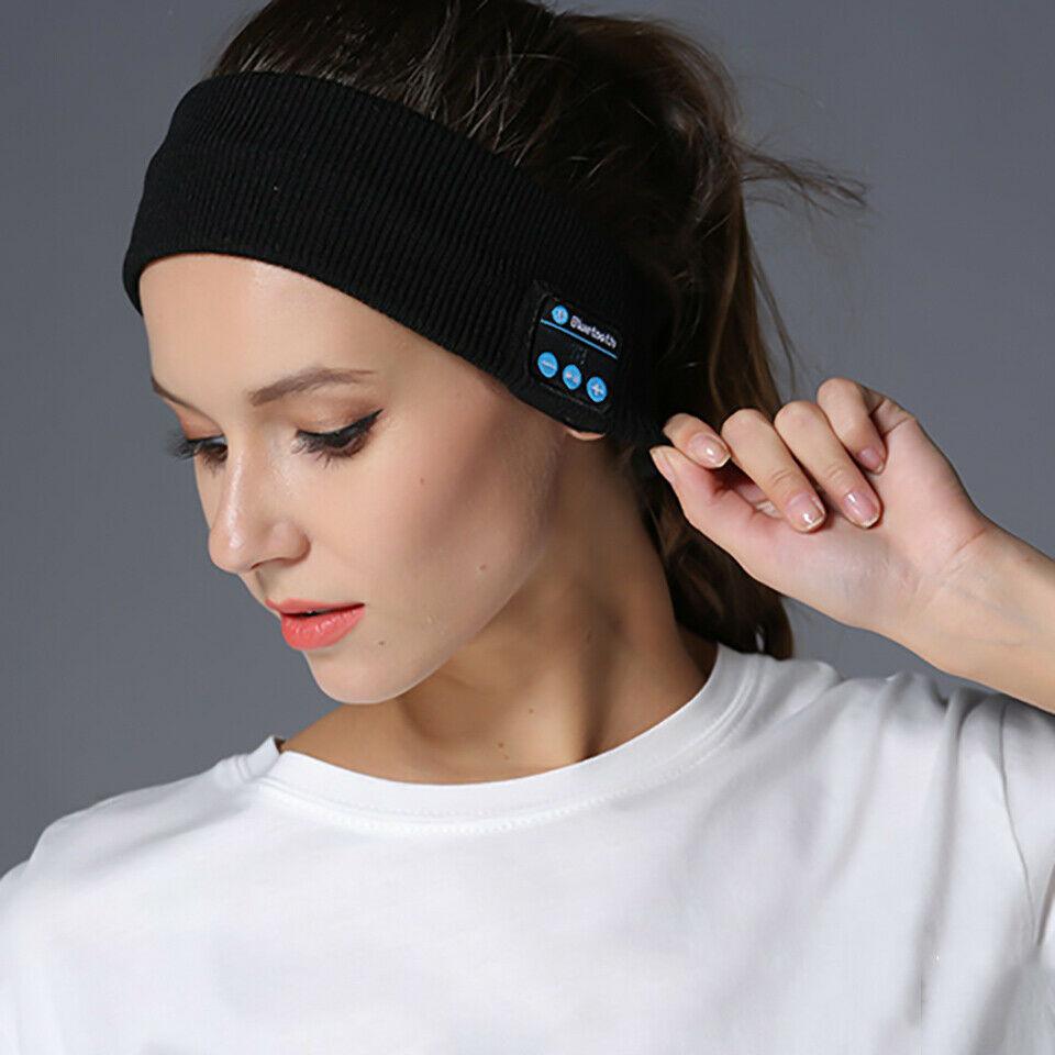 Sleep Bluetooth Headband Headset Wireless Earphone Sport HD Stereo Headphone
