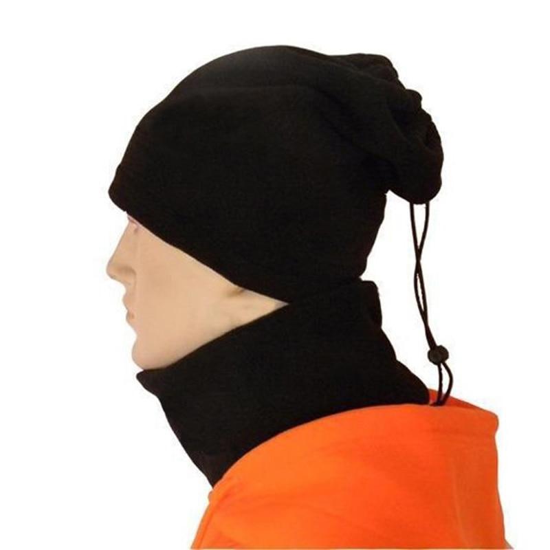 Black Football Neckerchief Soccer Scarf Outdoor Sports Windproof Multifunctional Fleece Warm Hat Football For Training 2018(China)