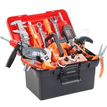 Dropshipping Children's Toolbox Engineer Simulation Repair Tools Toy Carpentry Drill Screwdriver Repair Kit Play Toy Set for Kid