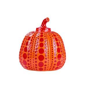 Kusama Yayoi искусство личности волна Тыква украшения гостиной крыльцо стерео дома современные продукты бизнес подарок M3244