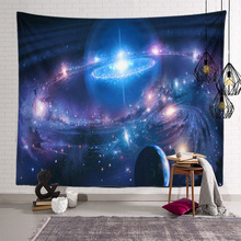 Colorful Galaxy Outer Space Large Tapestry Wall Hanging Psychedelic Planet Wall Tapestries For Home Dorm Living Room Decoration