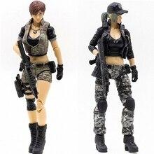 JOYTOY figura de acción de soldado en juego, Cross Fire de anime femenino, envío gratis, 1/18