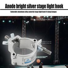 лучшая цена Stage Light O Clamp Hanger Hook Bracket Durable Heavy Duty Steel Stage Theatre Lighting 48-51mm pipe up to 100kg Drop shipping