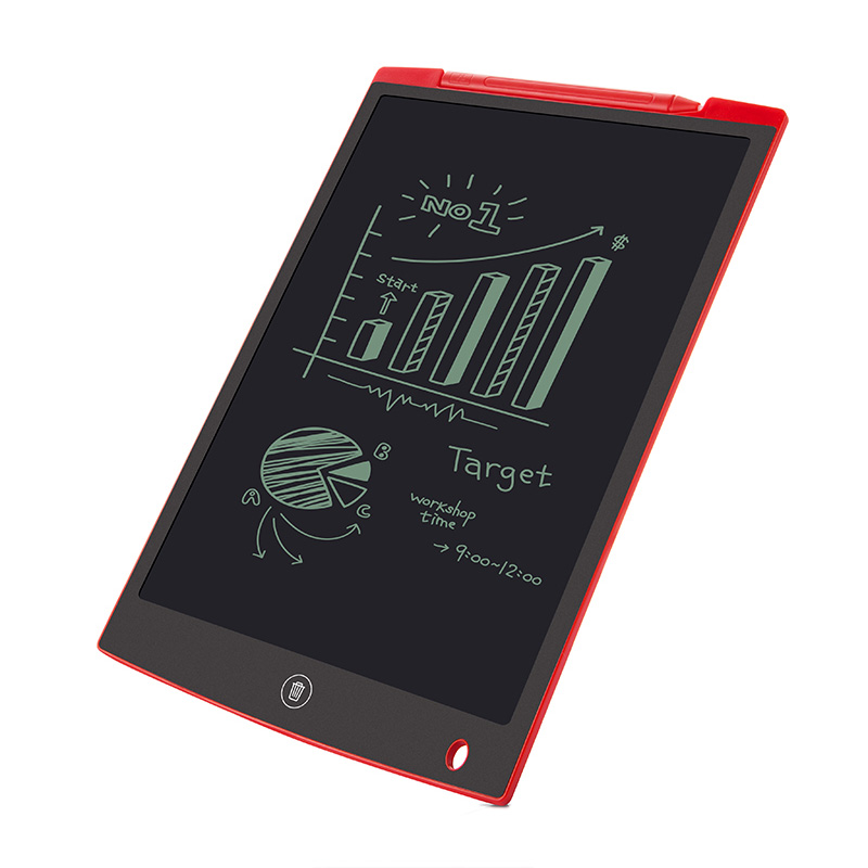 "Portable 12"" Inch LCD Writing Tablet Digital Drawing Tablet Handwriting Pads Electronic Tablet Board Ultra-thin Board"