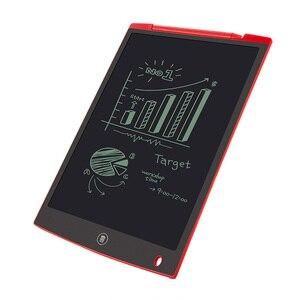 """Image 1 - محمول 12 """"بوصة كمبيوتر لوحي LCD بشاشة للكتابة لوح رسم رقمي بخط اليد منصات الإلكترونية اللوحي مجلس رقيقة جدا"""