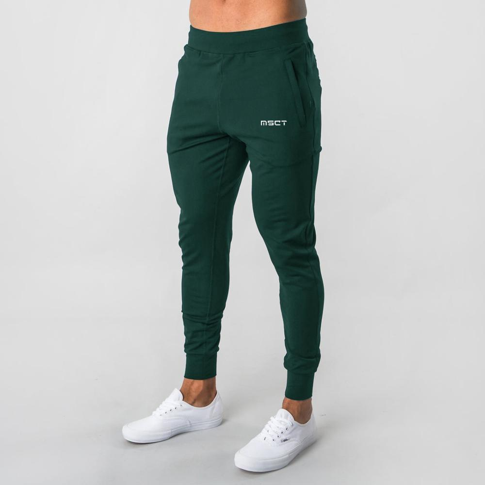 Men's Seatpants Sports Trousers Stretch Waist Jogger Pants Simple Comfortable Multi-color Optional