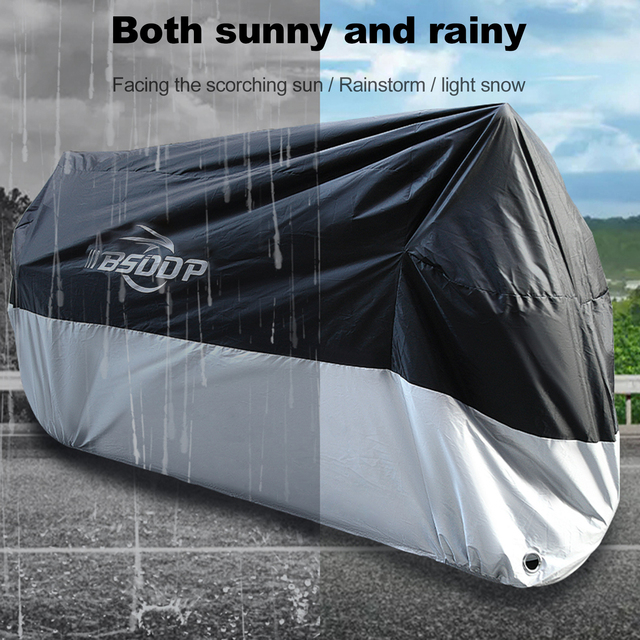 Motorcycle Cover All Season Waterproof Outdoor Protection(M XXXXL) Oxford cloth Replacement for Honda,Kawasaki, Yamaha, BMW