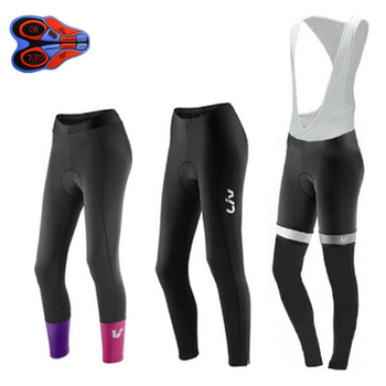 Pantalones de Ciclismo para mujer, Culotte largo con almohadilla de Gel 9d,...