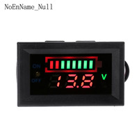 12V Car Lead Acid Battery Capacity Indicator Voltmeter Power Tester with Switch