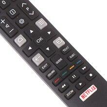 Comando à distância original rc802n yui1 para tcl smart tv u43p6046, u49p6046, u55p6046, u65p6046
