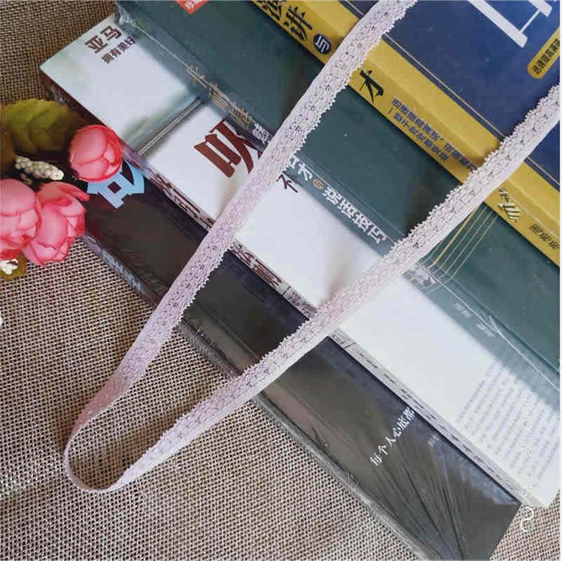 1 سنتيمتر شريطة من الدانتيل الحرف اليدوية الثنائية شريطة شبكية مطرزة تقليم شريط قماش متعدد الاستخدامات لتقوم بها بنفسك الخياطة تنورة اكسسوارات S1387
