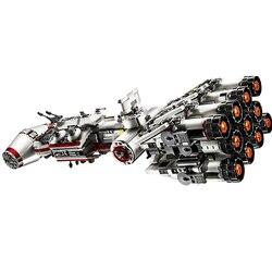 Star wars tantive iv espacial série técnica menino bloco de construção brinquedo edição do colecionador de luxo blocos de construção tijolos brinquedos
