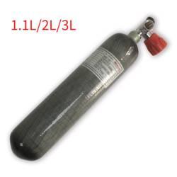 AC10211 Pcp пневматическая винтовка акваланга бак 1.1L/2L3L 4500 Psi цилиндр высокого давления Airforce Condor CE углеродное волокно Воздушный бак АЗС