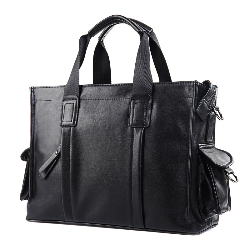 Fashion Men Briefcase Bag Laptop Business Bag Male Casual Style Shoulder Bag Waterproof Large Capacity Messenger Bags Totes