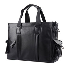 Fashion Men Briefcase Bag Laptop Business Bag Male Casual Style Shoulder Bag Waterproof Large Capacity Messenger Bags Totes fankepolo male bags waterproof nylon oxford cloth travel bag fashion business men shoulder bags casual messenger bag for men