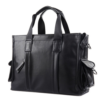 Fashion Men Briefcase Bag Laptop Business Bag Male Casual Style Shoulder Bag Waterproof Large Capacity Messenger Bags Totes 2018 new fashion brand men bag waterproof oxford messenger bag business casual briefcase crossbody bag male shoulder bag